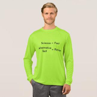 Science = Fact / Alternative Fact = Fiction Shirt