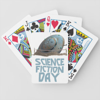 Science Fiction Day - Appreciation Day Bicycle Playing Cards