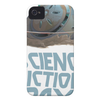 Science Fiction Day - Appreciation Day Case-Mate iPhone 4 Cases