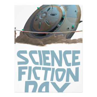 Science Fiction Day - Appreciation Day Letterhead