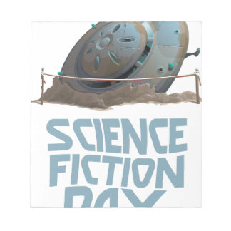 Science Fiction Day - Appreciation Day Notepad