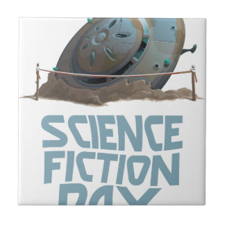 Science Fiction Day - Appreciation Day Tile