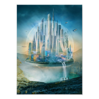 Science Fiction, Dome City Poster