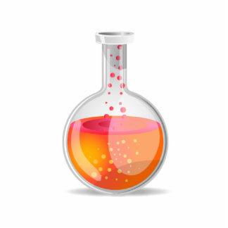 Science Flask Standing Photo Sculpture