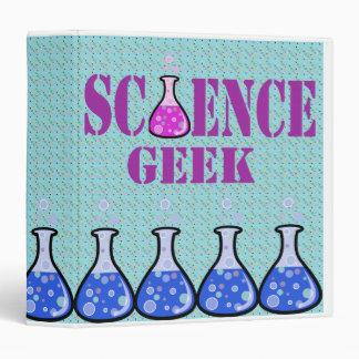 science geek notebook 3 ring binder