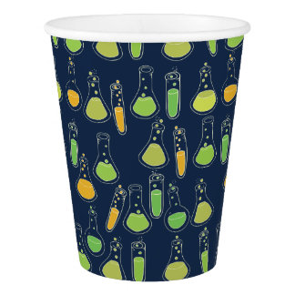 science geekery paper cup