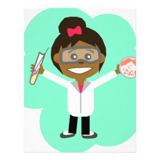 Science Girl Letterhead