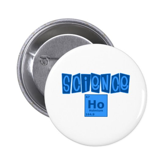 Science Ho 2 Inch Round Button