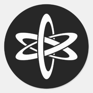Science Ideology Round Sticker