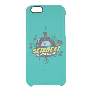 Science Is Awesome Clear iPhone 6/6S Case