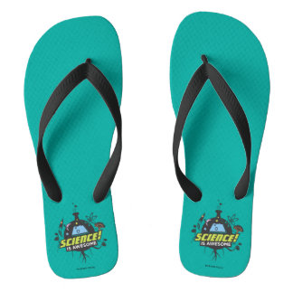 Science Is Awesome Flip Flops