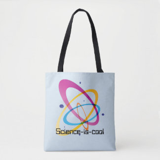 Science-is-cool All-Over-Print Tote Bag,