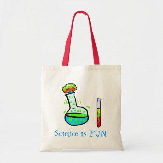 Science is Fun Whimsical Teacher's Tote Bag