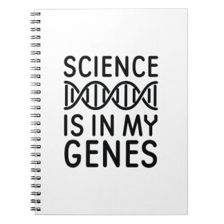 Science Is In My Genes Notebook