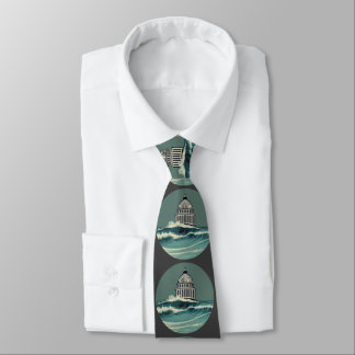 Science Is Real Climate Change U.S. Capitol Tie