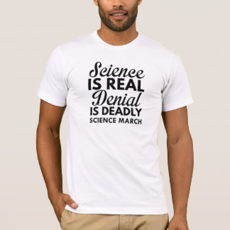 Science Is Real T-Shirt