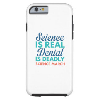 Science Is Real Tough iPhone 6 Case