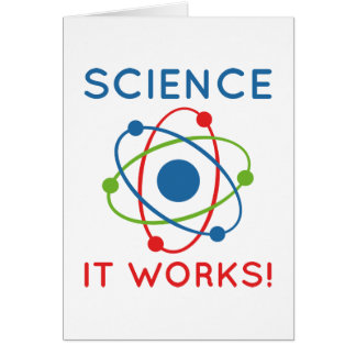 Science It Works! Card