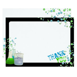Science Lab Thank You Card