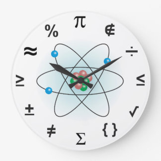 Science Large Clock