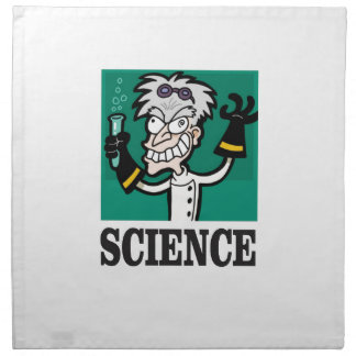 science man of the year napkin