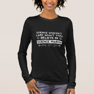 Science March Long Sleeve T-Shirt