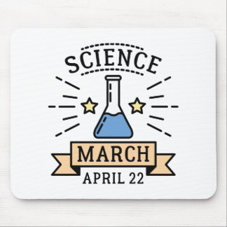 Science March Mouse Pad