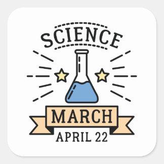 Science March Square Sticker