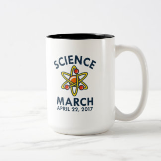 Science March Two-Tone Coffee Mug