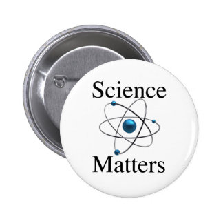 Science Matters 2 Inch Round Button