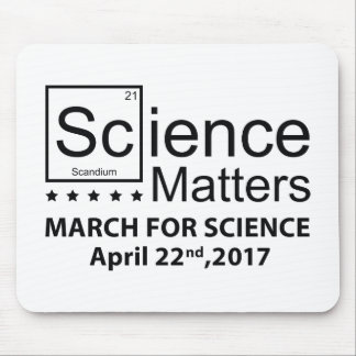 Science Matters Mouse Pad