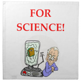 science napkin