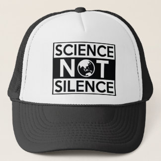 Science Not Silence Trucker Hat