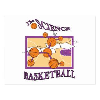 science of basketball postcard