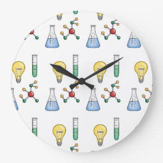 Science of Life Large Clock