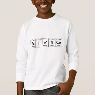 ScIeNCe Periodic Table Elements Word Chemistry T-Shirt