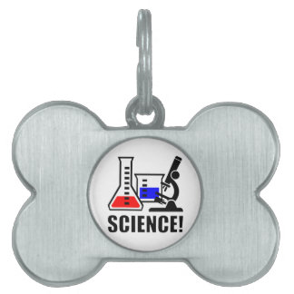 Science! Pet Name Tags