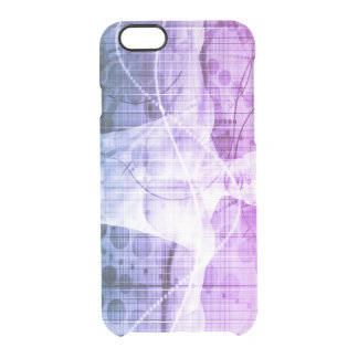 Science Research as a Concept for Presentation Clear iPhone 6/6S Case