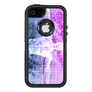 Science Research as a Concept for Presentation OtterBox Defender iPhone Case