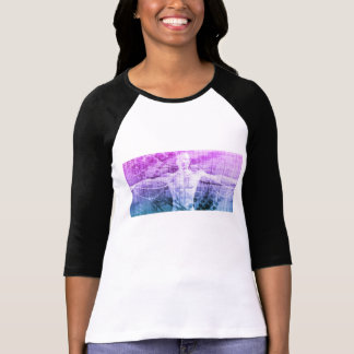Science Research as a Concept for Presentation T-Shirt