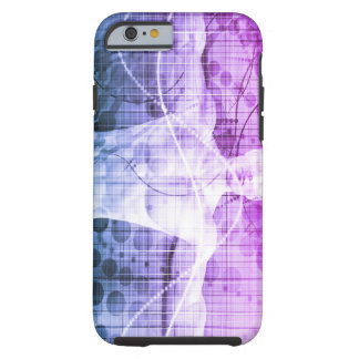 Science Research as a Concept for Presentation Tough iPhone 6 Case