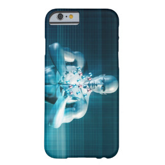 Science Research as a Molecule Concept Barely There iPhone 6 Case