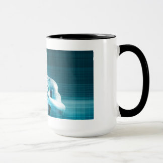 Science Research as a Molecule Concept Mug