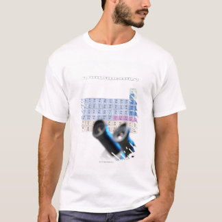 Science research, conceptual image. Periodic T-Shirt