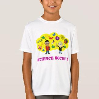 Science Rocks Cartoon T-Shirt