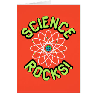 Science Rocks! Note & Greeting Cards