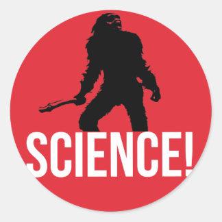 SCIENCE! ROUND STICKER