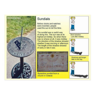 Science, Shadows and Sundials Postcard