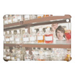 Science student in classroom cover for the iPad mini