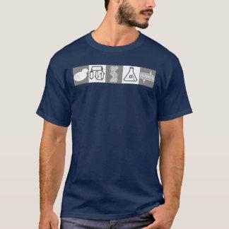Science symbol shirt for dark shirts
